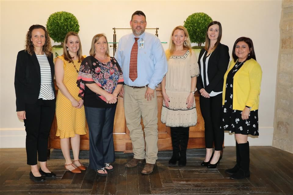 2019-2020 Campus Teachers of the Year
