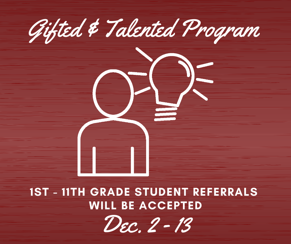 Gifted and Talented Program