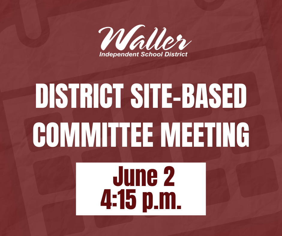District Site-Based Decision Making Committee Meeting June 2