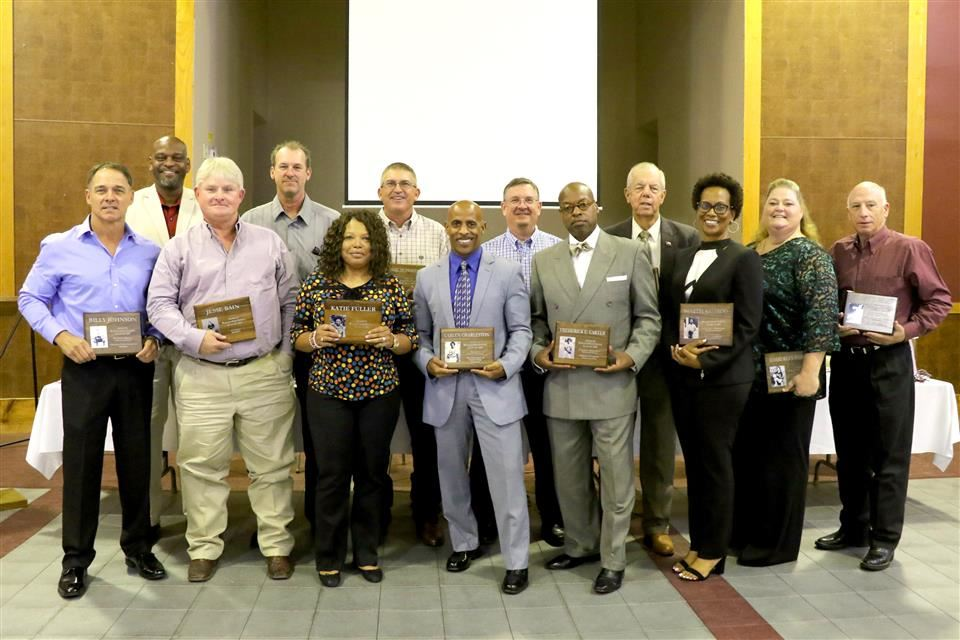 Photo of Hall of Fame Inductees