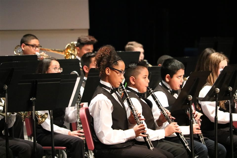 Photo of Waller Junior High Band