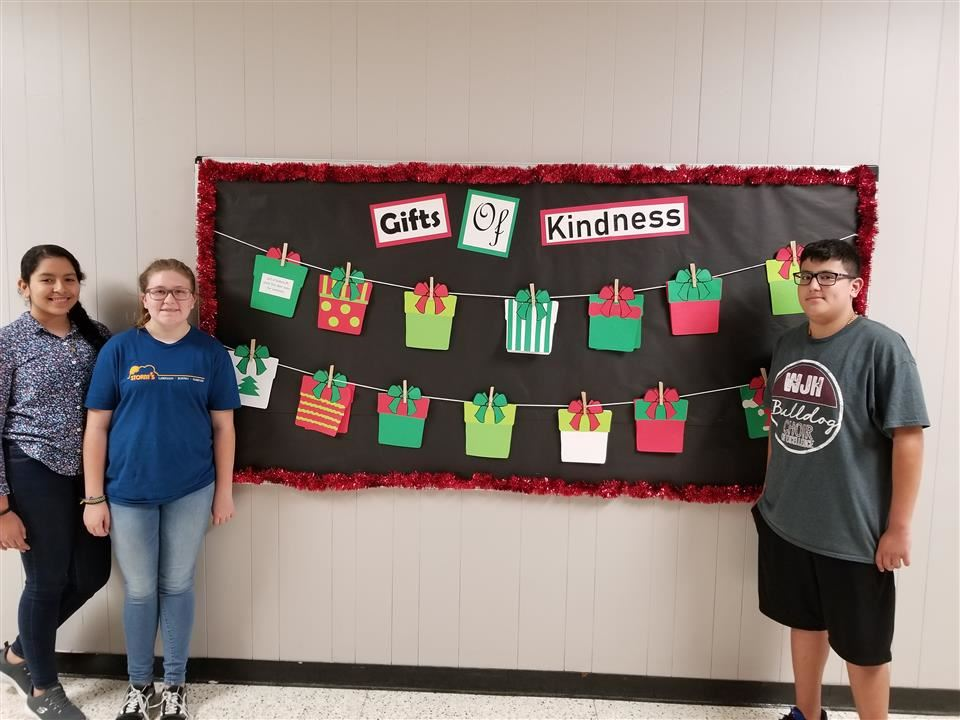 Photo of Waller Junior High Gifts of Kindness