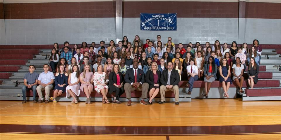 Photo of WJH National Junior Honor Society Inductees