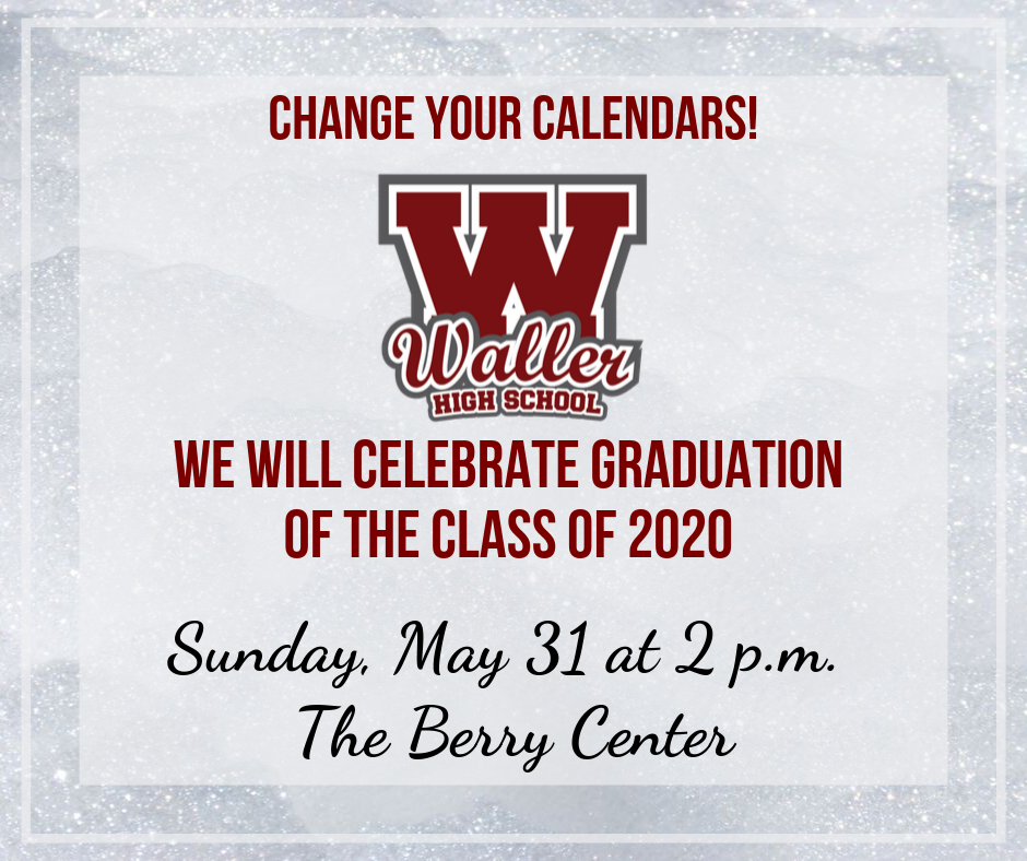 WHS Graduation Announcement