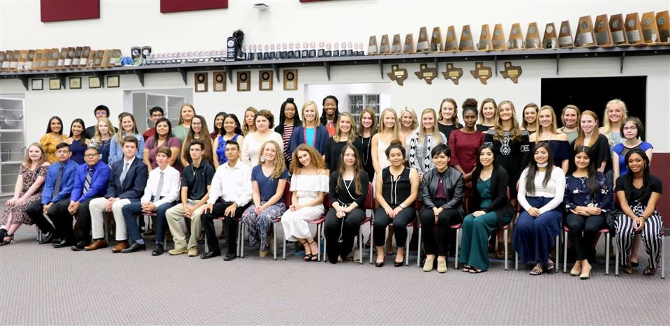 Photo of Waller High School NHS Inductees